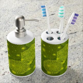 Floral luxury mandala pattern bathroom set