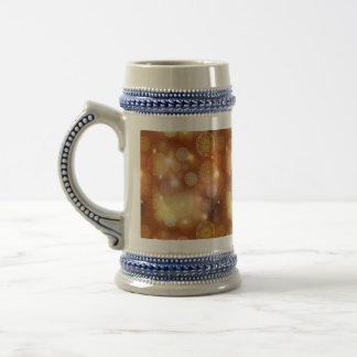 Floral luxury mandala pattern beer stein