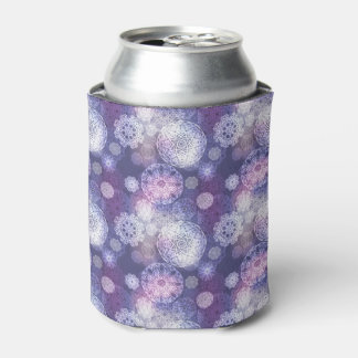 Floral luxury mandala pattern can cooler
