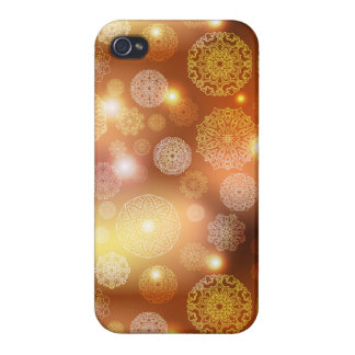 Floral luxury mandala pattern case for the iPhone 4