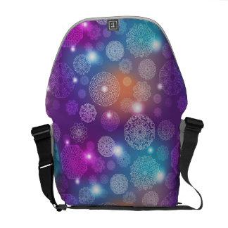 Floral luxury mandala pattern commuter bag