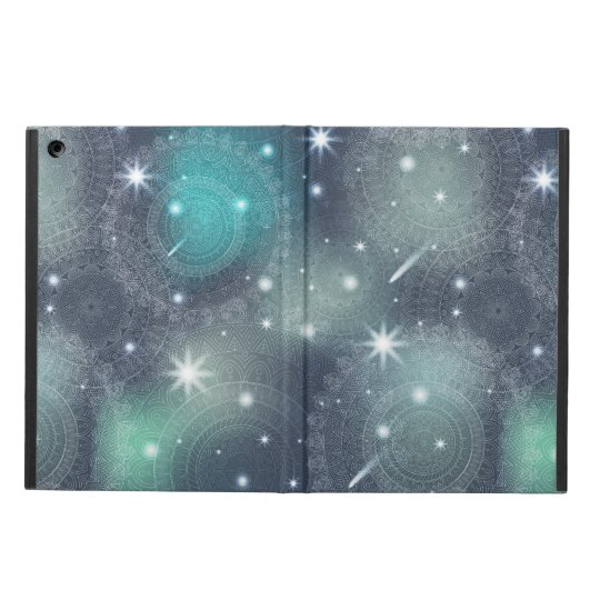 Floral luxury mandala pattern cover for iPad air