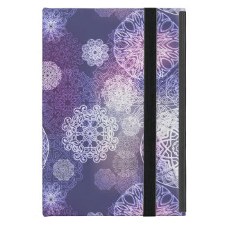 Floral luxury mandala pattern cover for iPad mini