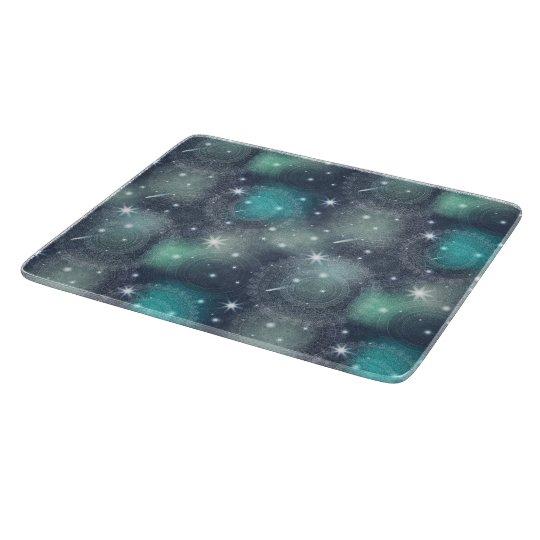 Floral luxury mandala pattern cutting board