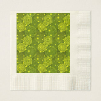 Floral luxury mandala pattern disposable serviette
