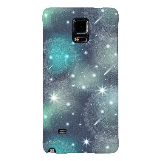 Floral luxury mandala pattern galaxy note 4 case