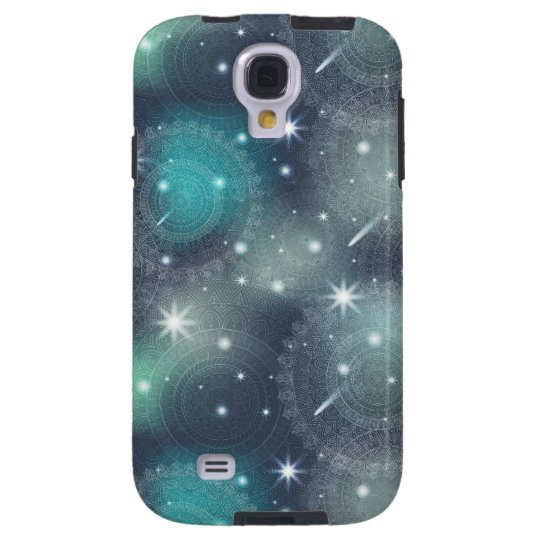 Floral luxury mandala pattern galaxy s4 case