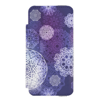Floral luxury mandala pattern incipio watson™ iPhone 5 wallet case