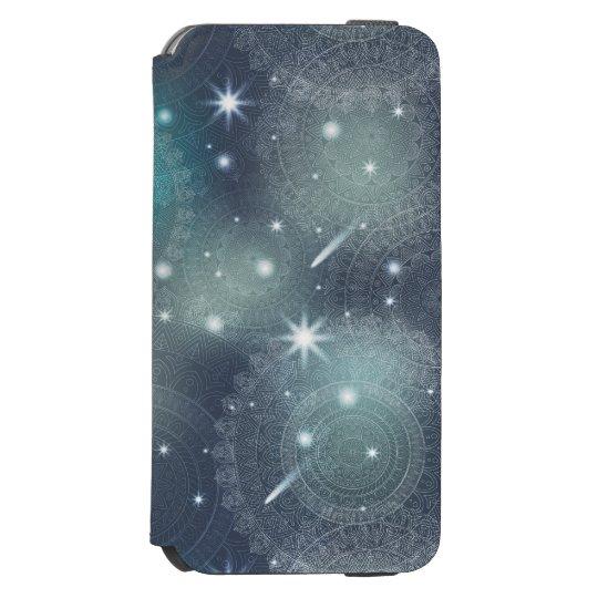 Floral luxury mandala pattern incipio watson™ iPhone 6 wallet case