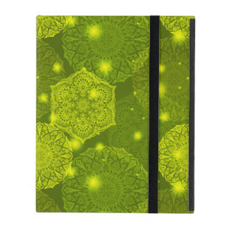 Floral luxury mandala pattern iPad case