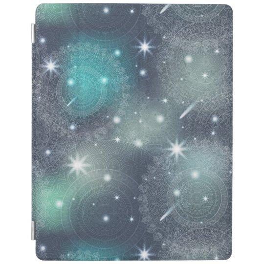 Floral luxury mandala pattern iPad cover