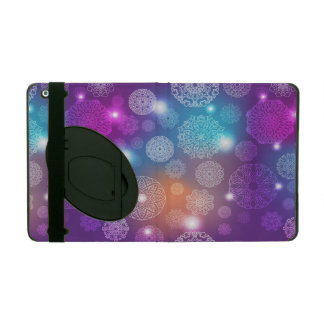 Floral luxury mandala pattern iPad cover