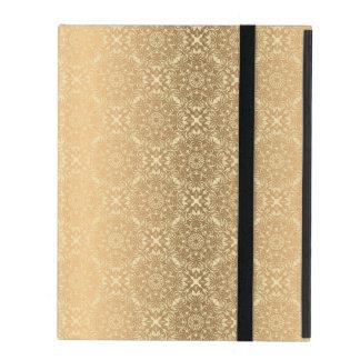 Floral luxury mandala pattern iPad folio case