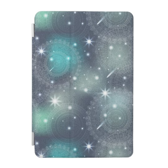 Floral luxury mandala pattern iPad mini cover