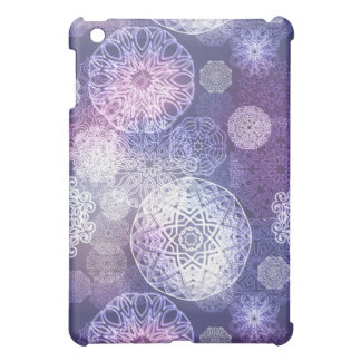 Floral luxury mandala pattern iPad mini covers
