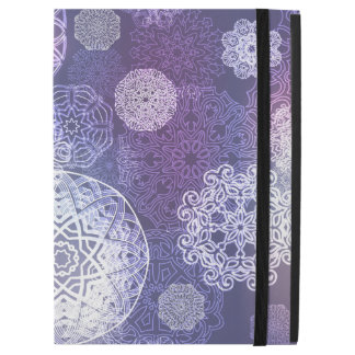 "Floral luxury mandala pattern iPad pro 12.9"" case"
