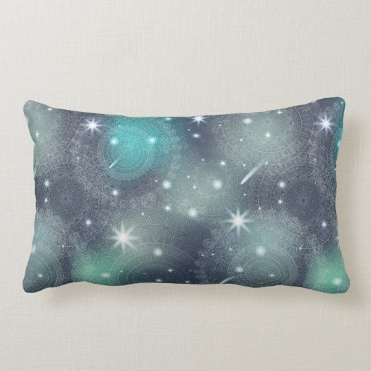 Floral luxury mandala pattern lumbar cushion