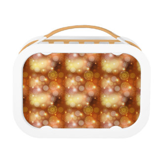 Floral luxury mandala pattern lunch box