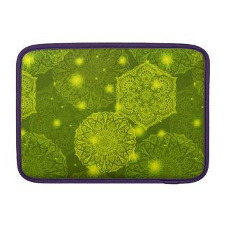 Floral luxury mandala pattern MacBook sleeve
