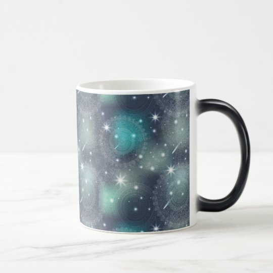 Floral luxury mandala pattern magic mug