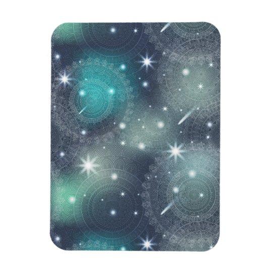 Floral luxury mandala pattern magnet