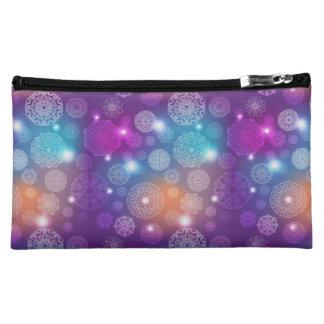 Floral luxury mandala pattern makeup bag