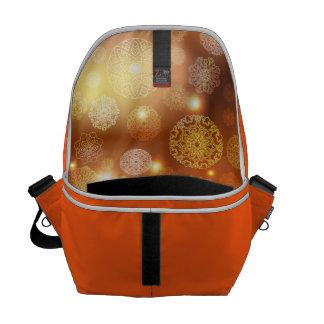 Floral luxury mandala pattern messenger bags