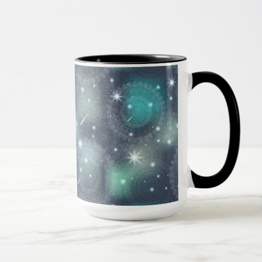 Floral luxury mandala pattern mug