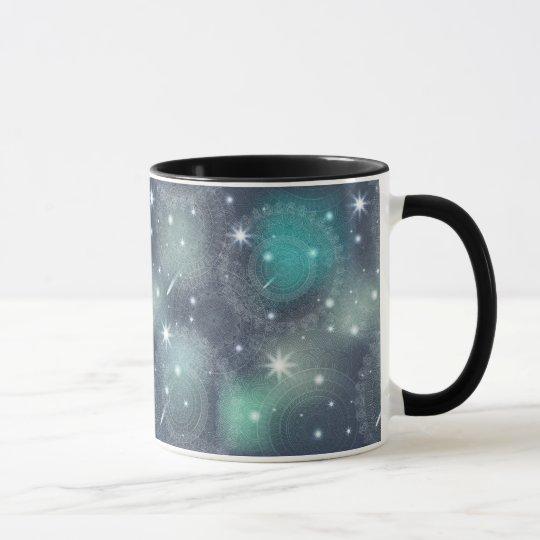 Floral luxury mandala pattern mug