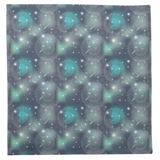 Floral luxury mandala pattern napkin