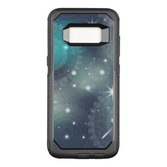 Floral luxury mandala pattern OtterBox commuter samsung galaxy s8 case