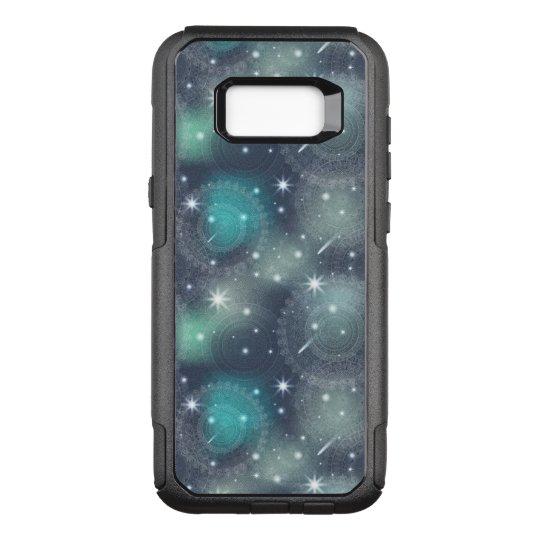 Floral luxury mandala pattern OtterBox commuter samsung galaxy s8+ case