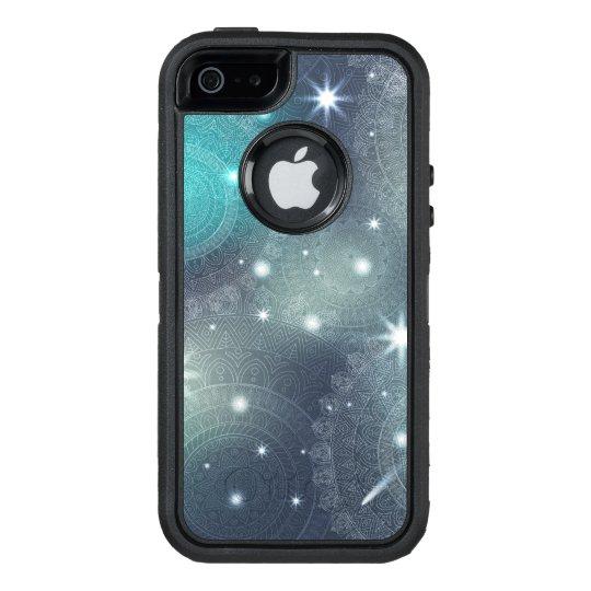 Floral luxury mandala pattern OtterBox defender iPhone case