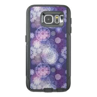 Floral luxury mandala pattern OtterBox samsung galaxy s6 case