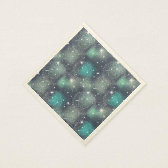 Floral luxury mandala pattern paper napkin