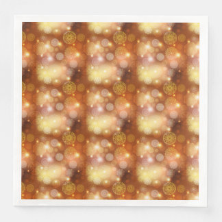 Floral luxury mandala pattern paper serviettes