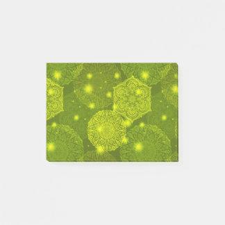 Floral luxury mandala pattern post-it notes
