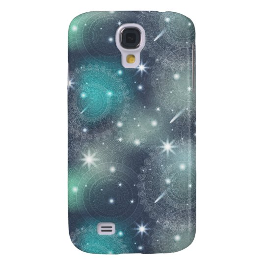 Floral luxury mandala pattern samsung galaxy s4 cover
