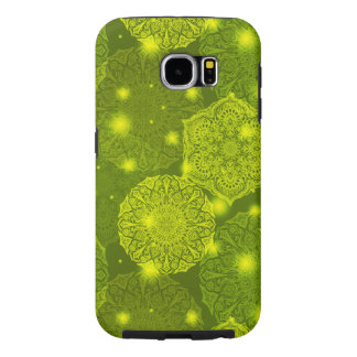 Floral luxury mandala pattern samsung galaxy s6 cases