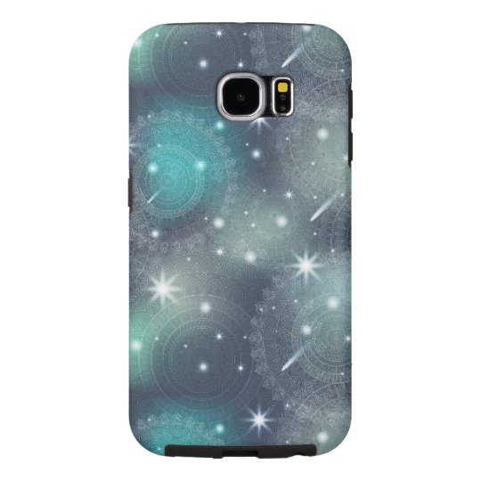 Floral luxury mandala pattern samsung galaxy s6 cases