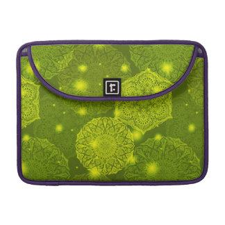 Floral luxury mandala pattern sleeve for MacBook pro