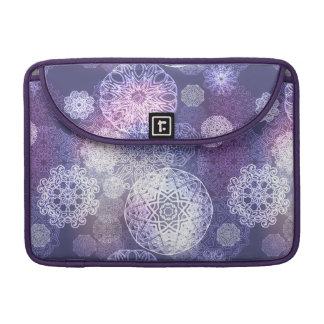 Floral luxury mandala pattern sleeve for MacBooks