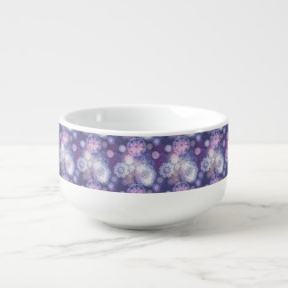 Floral luxury mandala pattern soup mug