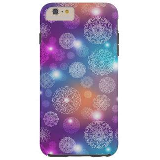 Floral luxury mandala pattern tough iPhone 6 plus case