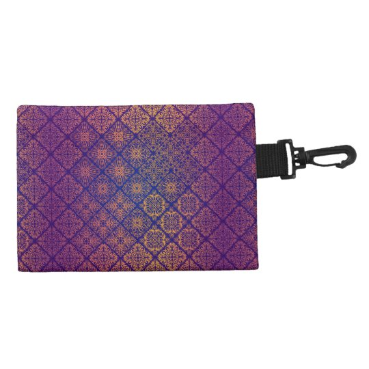 Floral luxury royal antique pattern accessory bag