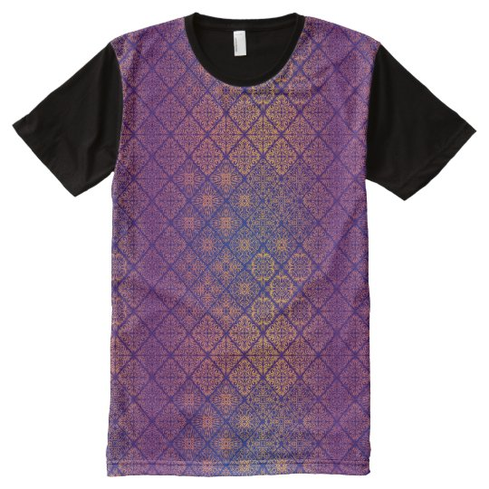 Floral luxury royal antique pattern All-Over print T-Shirt