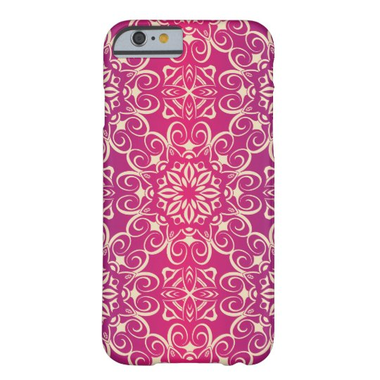 Floral luxury royal antique pattern barely there iPhone 6 case