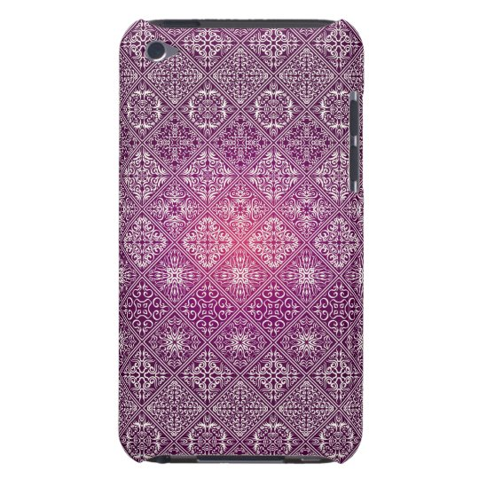 Floral luxury royal antique pattern barely there iPod cases
