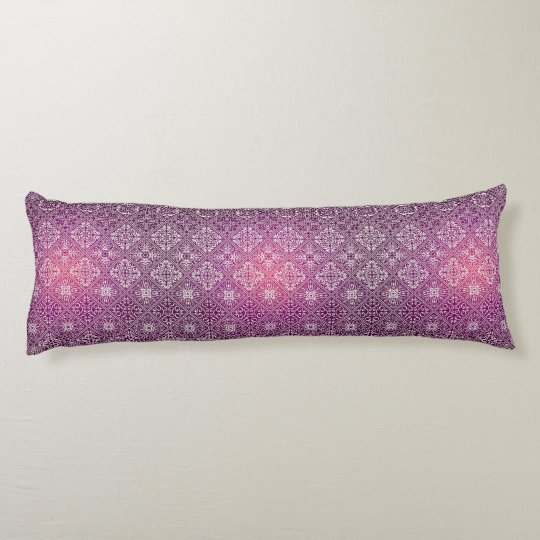 Floral luxury royal antique pattern body cushion