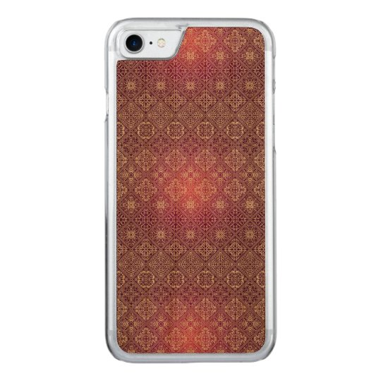 Floral luxury royal antique pattern carved iPhone 8/7 case